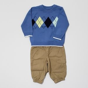3-6m 2pc Baby Boy Outfit - The Children's Place